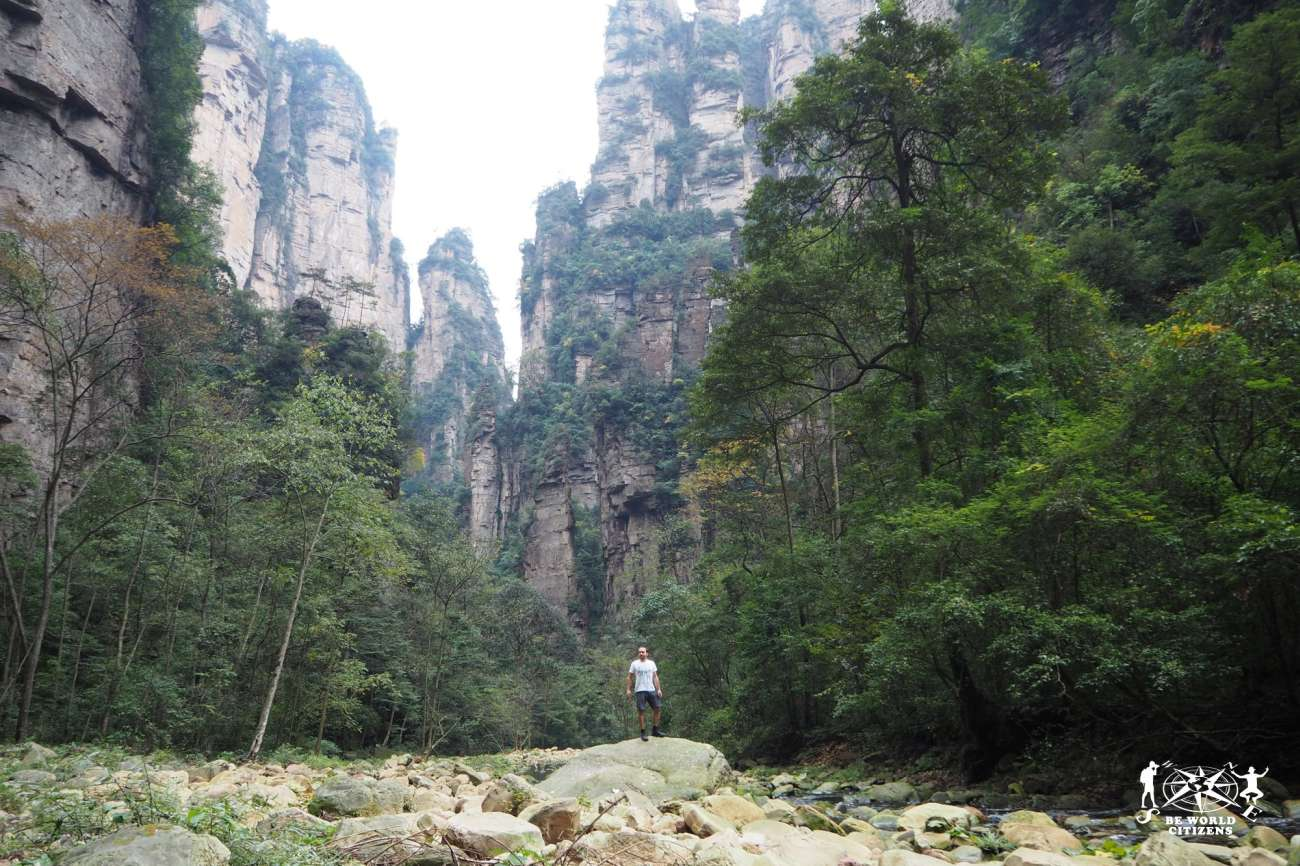 Cina: Zhangjiajie National Forest Park