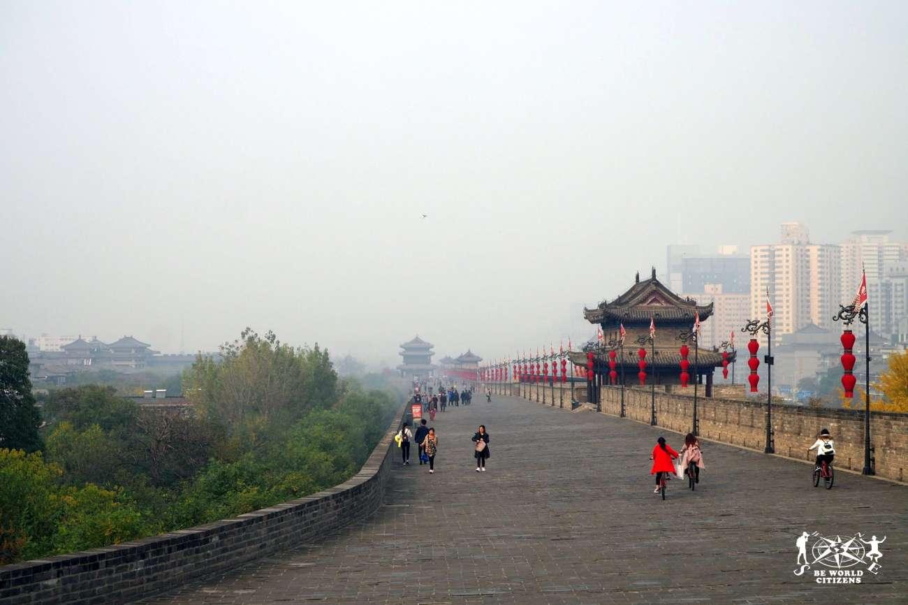 Cina: Le mura che circondano Xi\'An