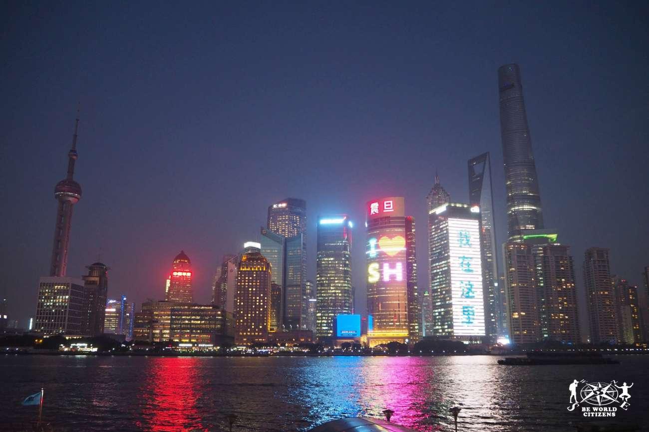 Shanghai - Skyline dal Bund