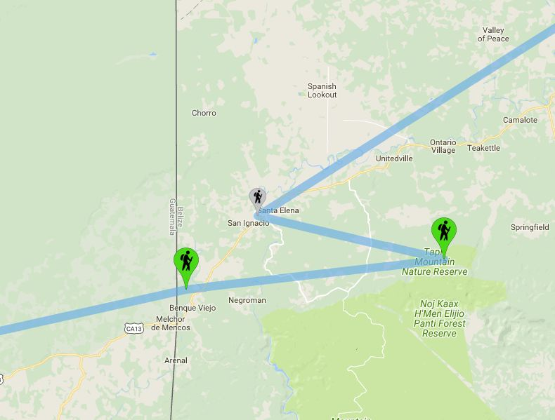 Belize: San Ignacio - Le Nostre Tappe