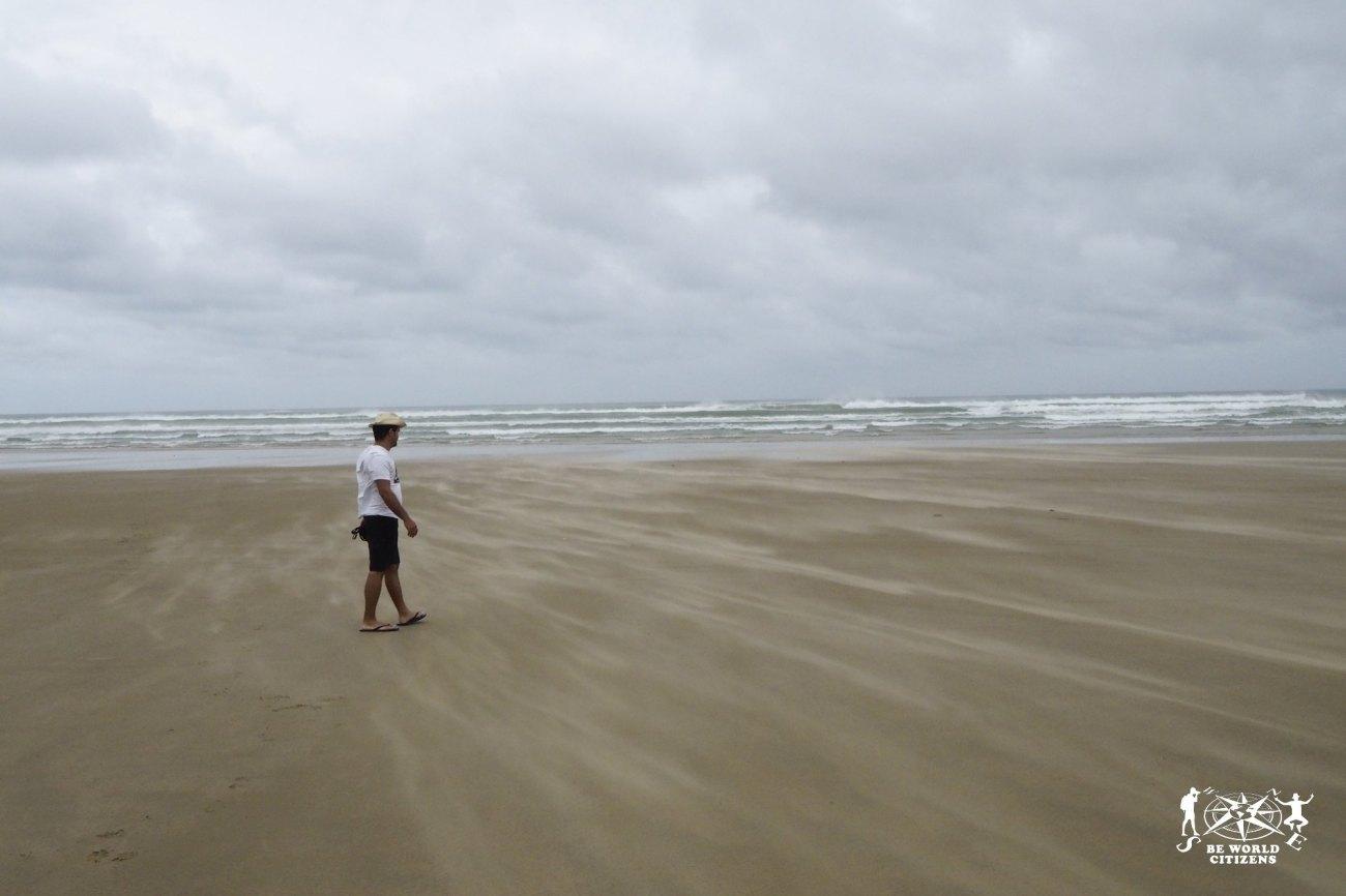 New Zealand: 90 miles beach