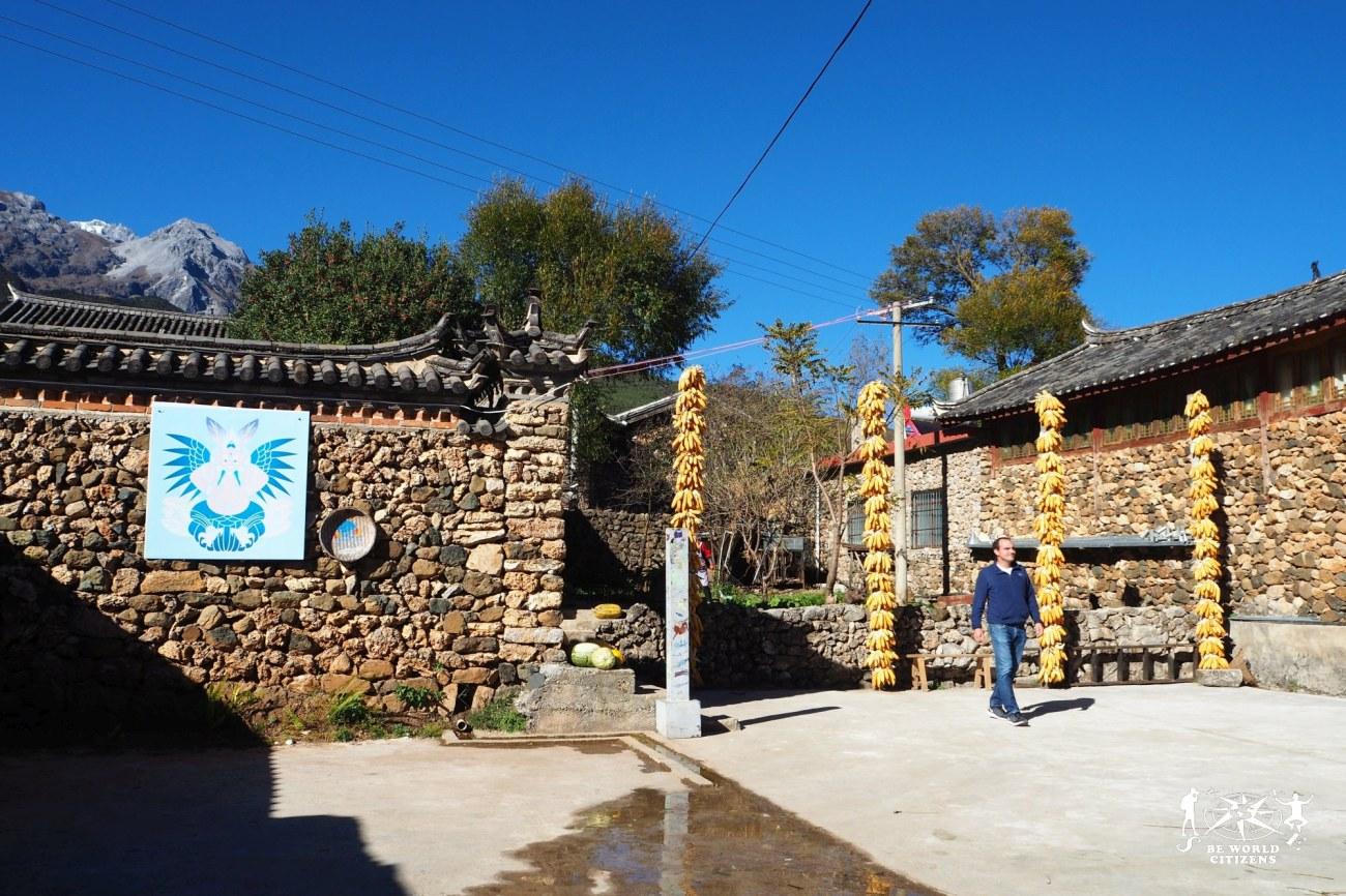 Cina: Lijiang, Yu Hu VIllage
