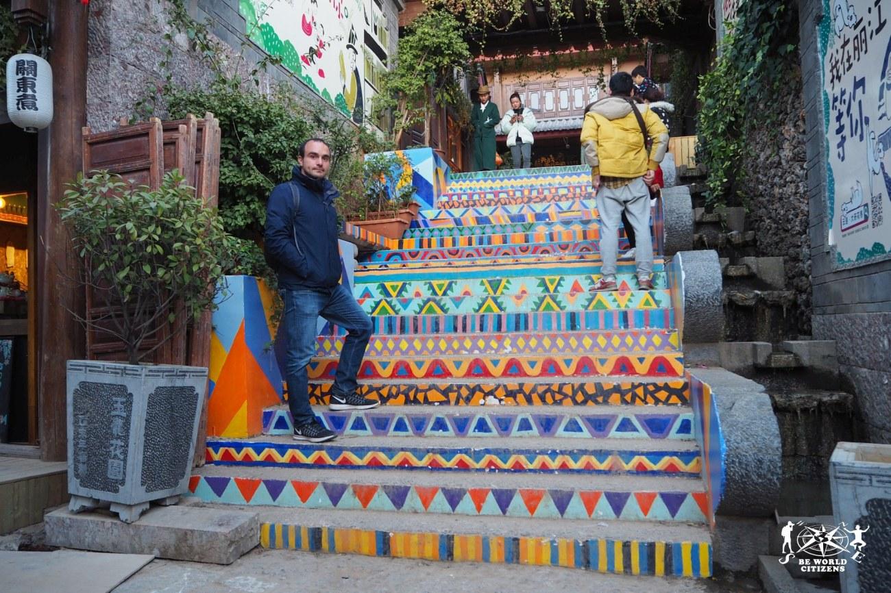 Cina: Lijiang, scala di colori