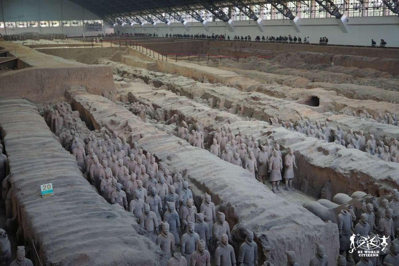 Cina: Xi\'An - Esercito di Terracotta