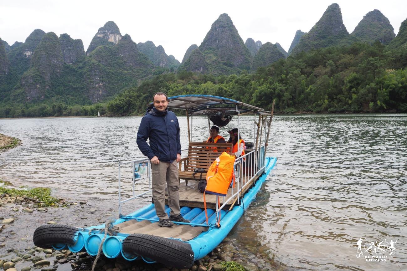 Guilin: Bamboo Boat Tour verso Yangshuo