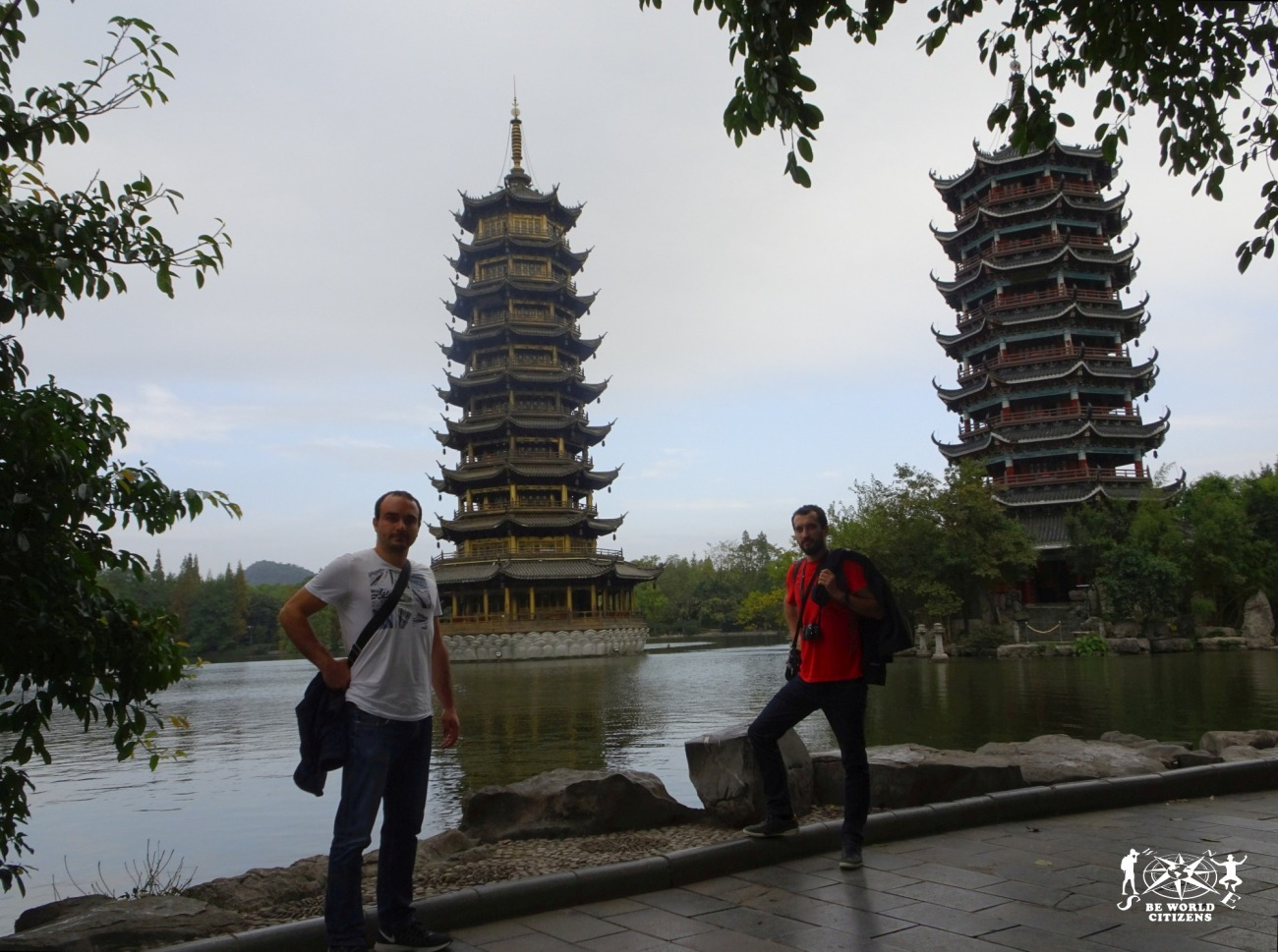Guilin: Pagoda di sole e luna