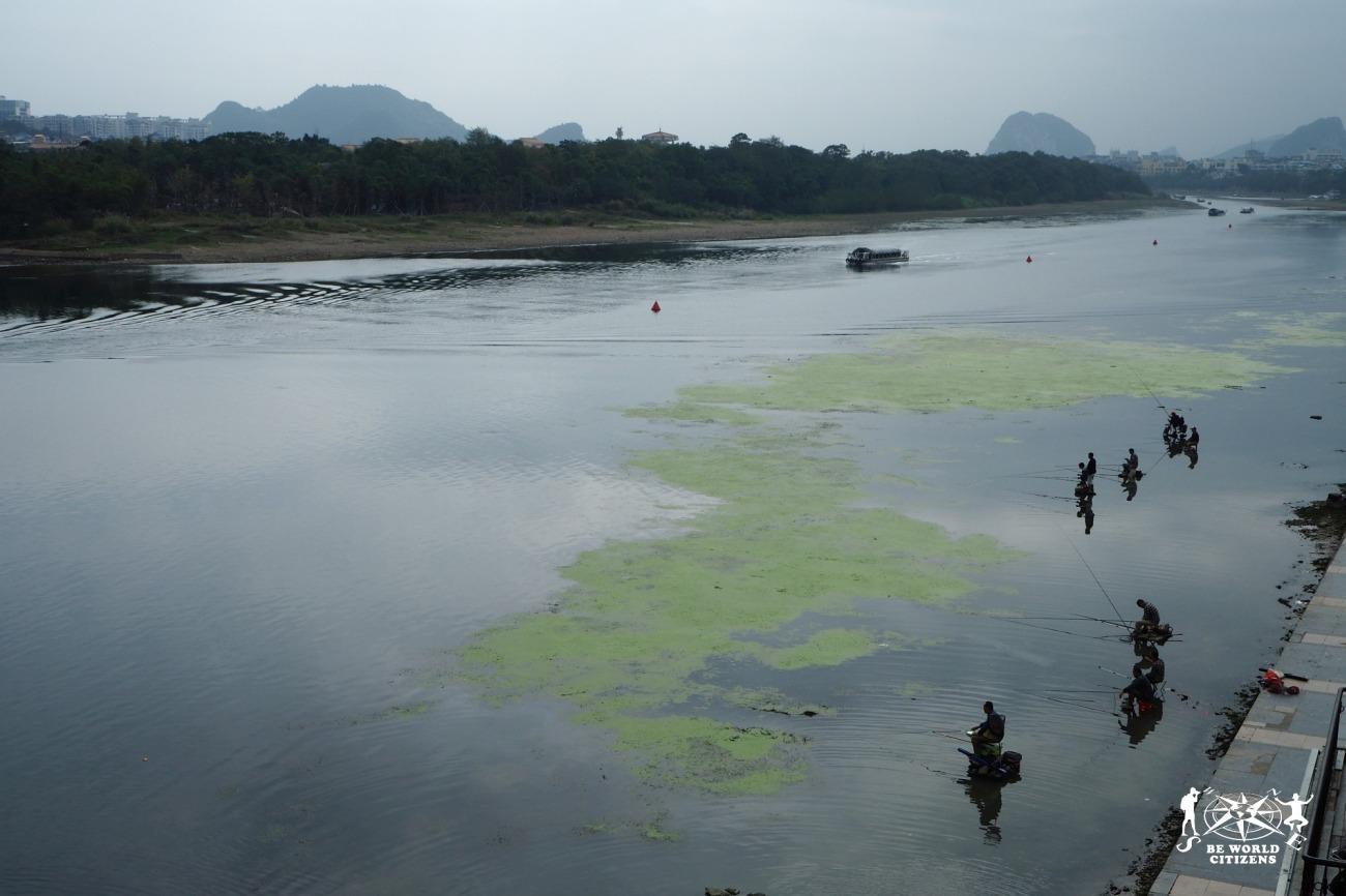 Guilin: Pescatori sul fiume