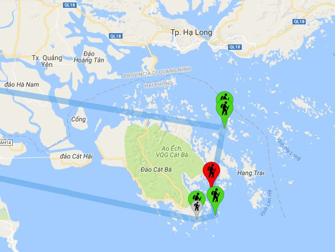 Vietnam: Le nostre tappe ad Halong Bay