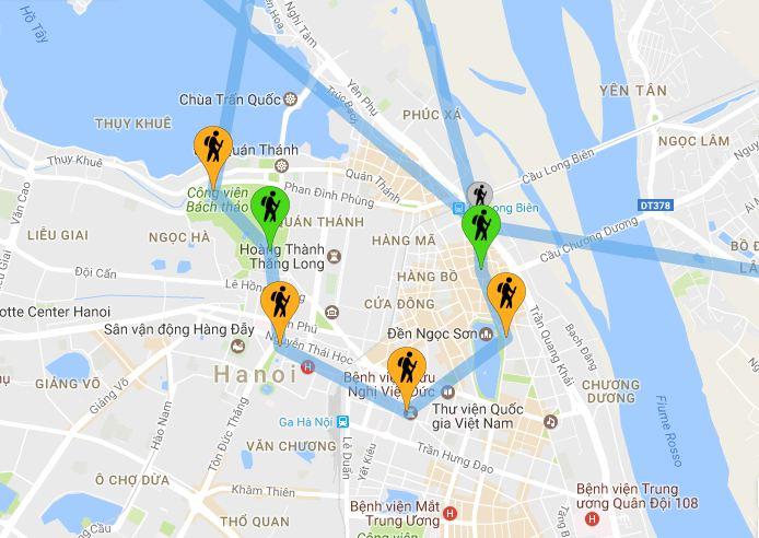 Vietnam: Tappe Hanoi