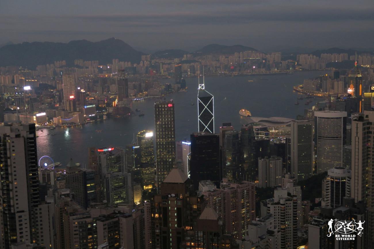 Hong Kong: Vista dal Peak