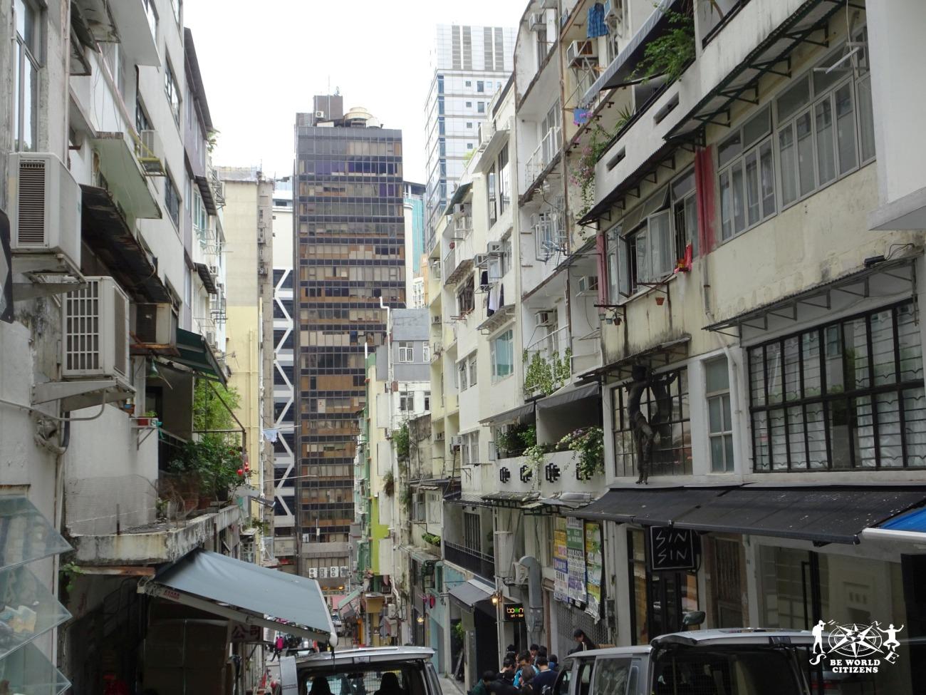 Hong Kong: Impalcature