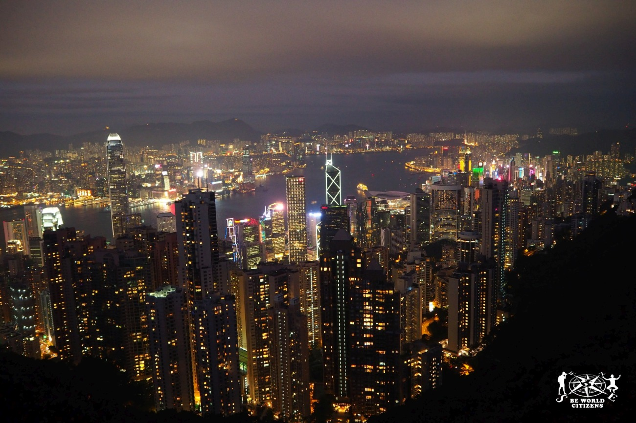 Hong Kong: La vista dal Peak
