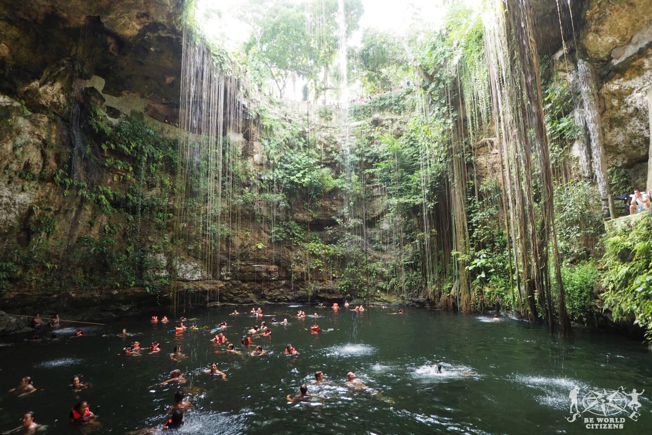Messico: Cenote Ik Kil