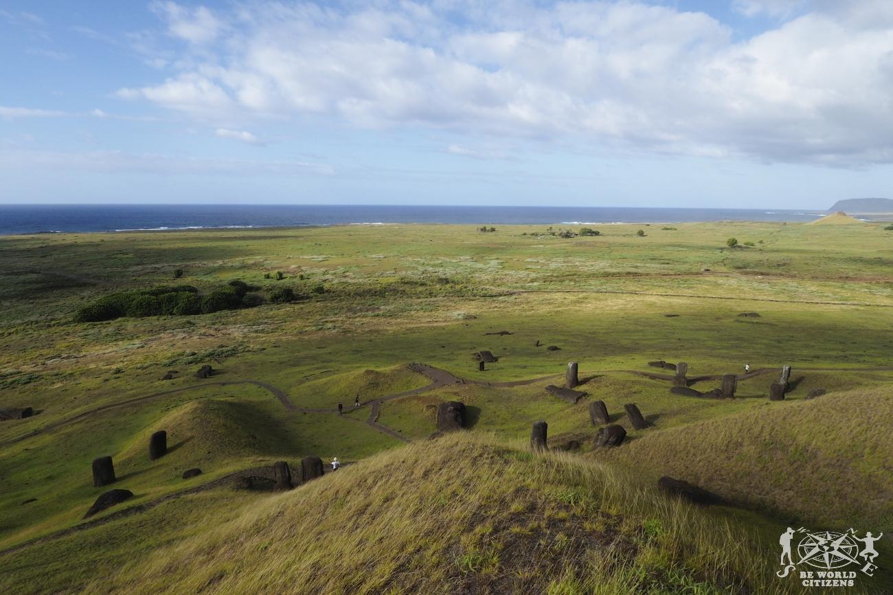 Isola di Pasqua: Ranu Raraku