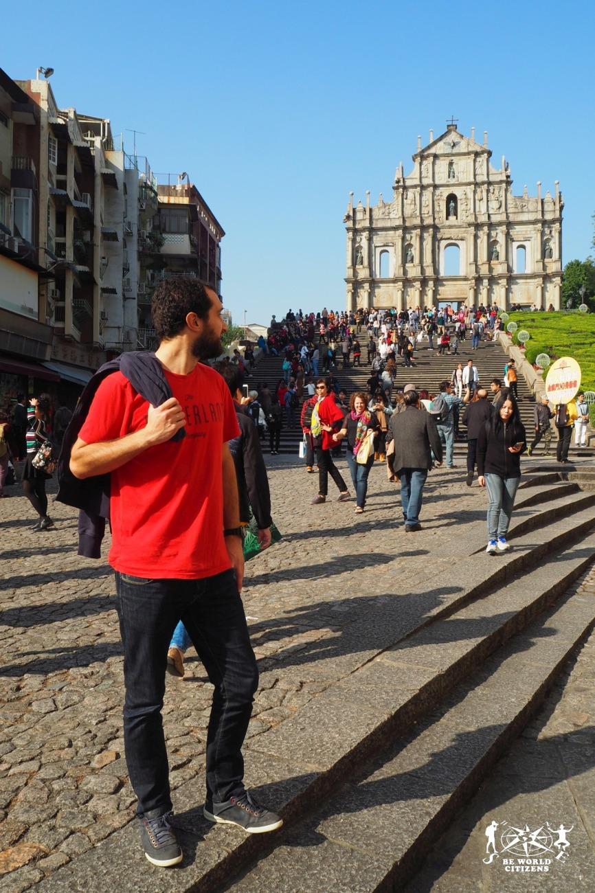 Macao: la facciata della chiesa di San Paolo