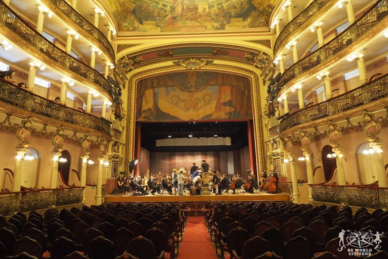 Brasile: Manaus - Teatro Amazonas