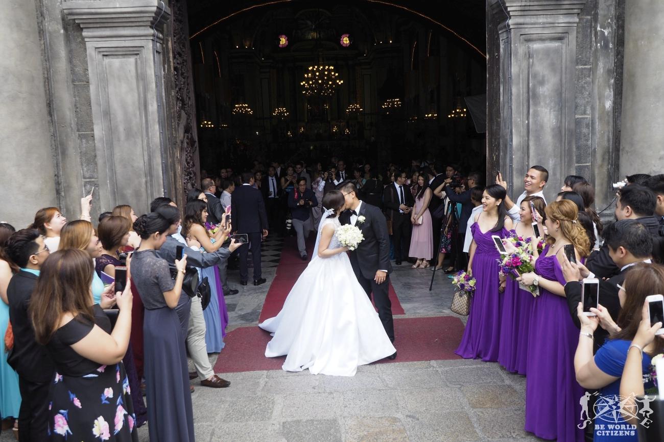 Filippine: Manila, matrimonio