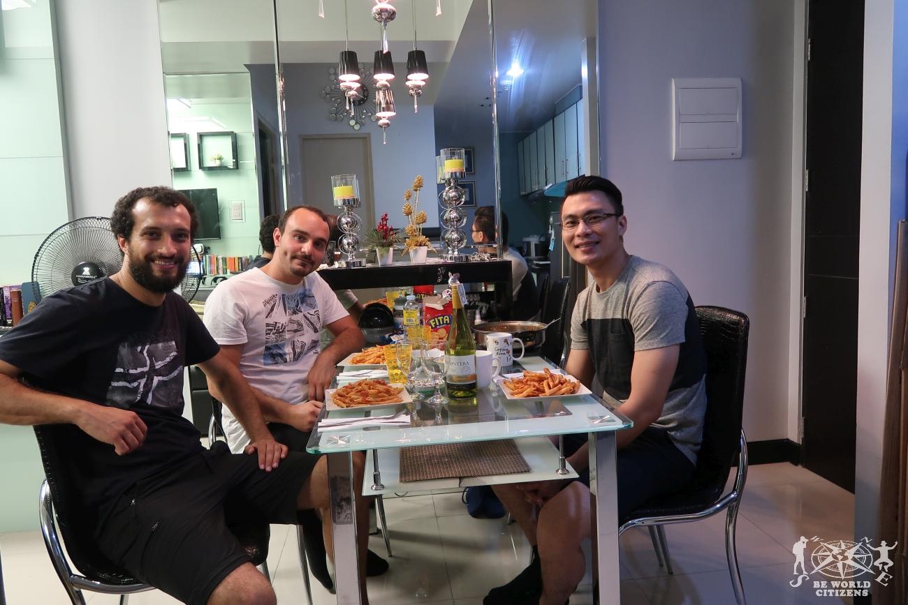 Filippine: Manila, cena Couchsurfing