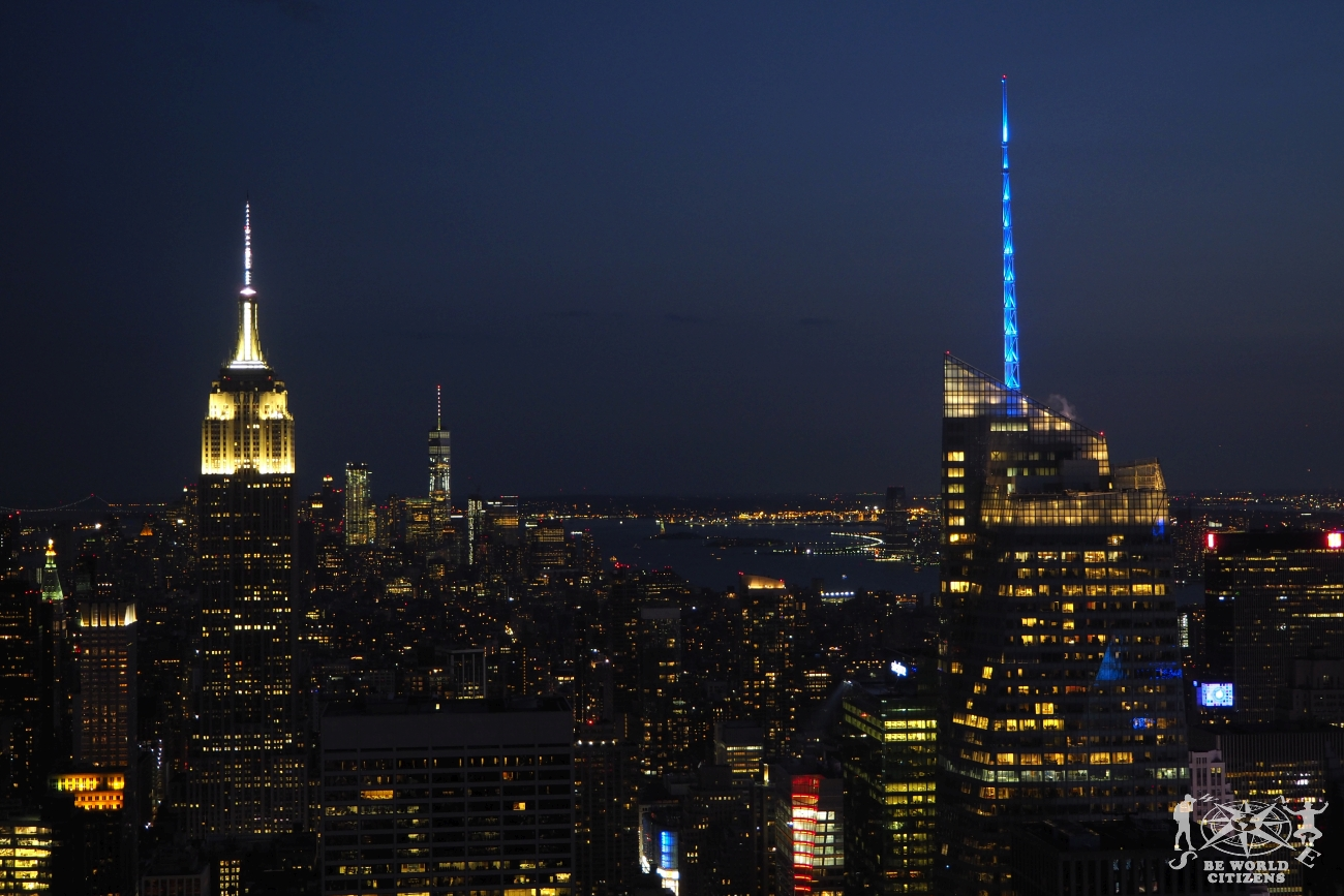 USA: New York vista dall\'Empire State Building
