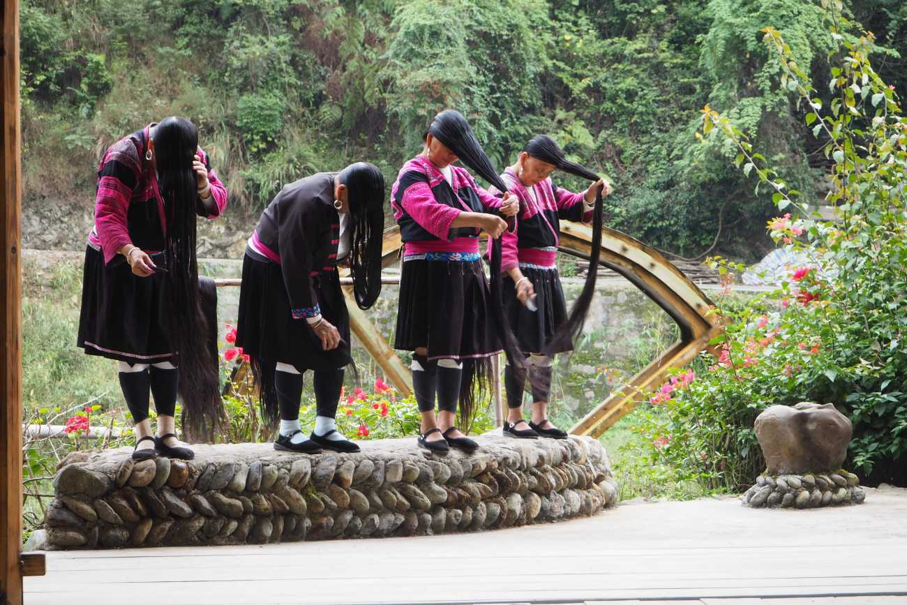 Guilin: Long Hair Village