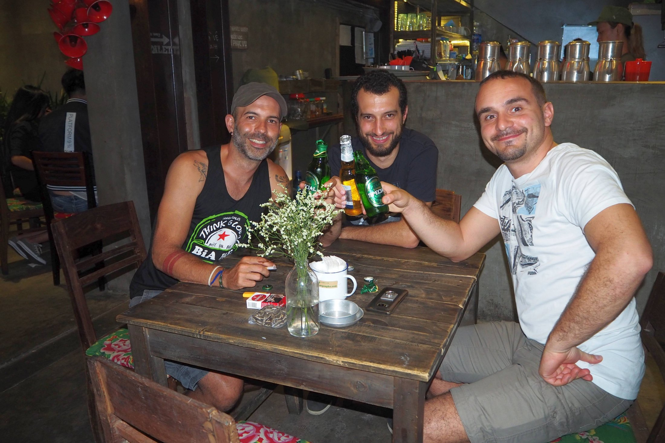 Ho Chi Minh: Birra con Simone Piccini