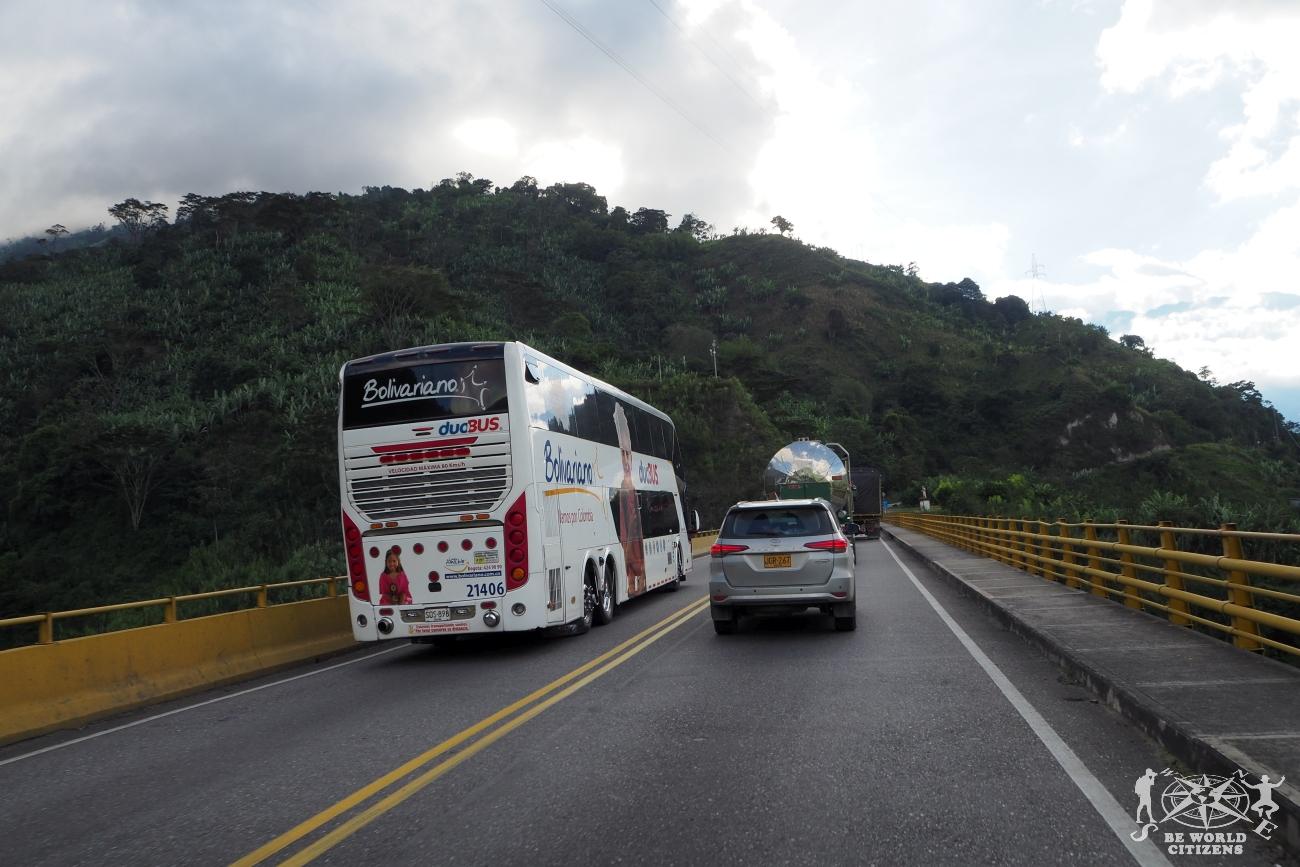 Colombia: Sorpassi azzardati