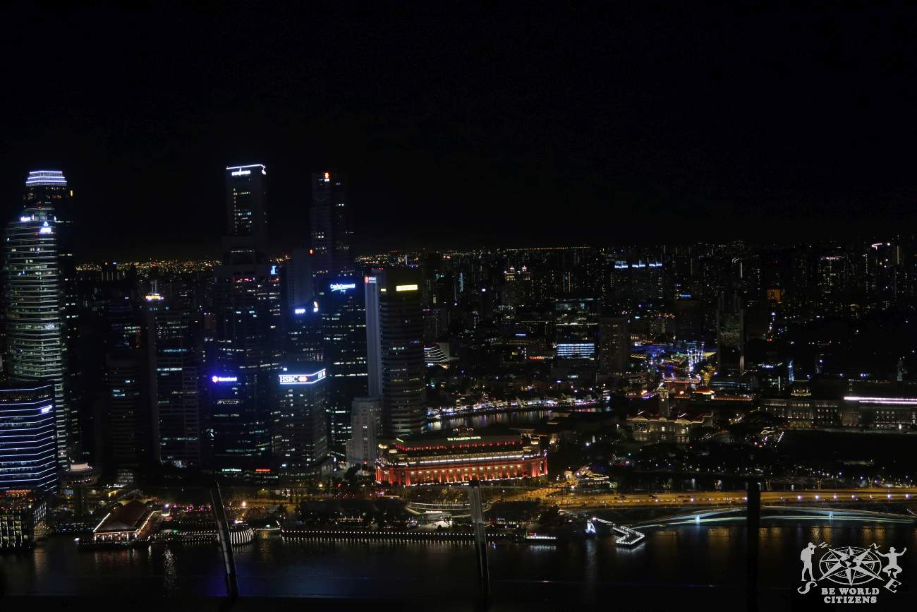 Singapore: View from Marina Bay Sands