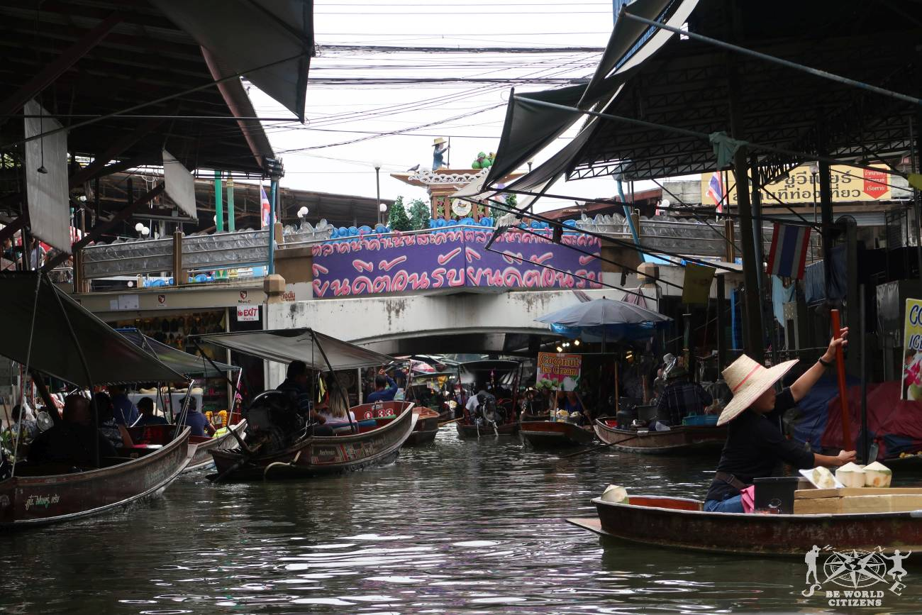 Thailandia: Floating Market