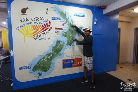 New Zealand: Map