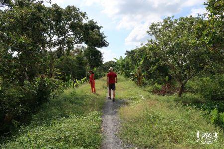 Passeggiata sul Delta del Mekong
