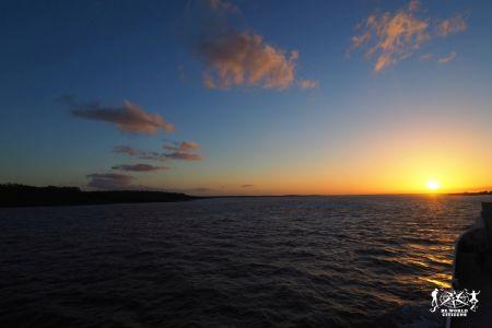 Tramonto a Fraser Island