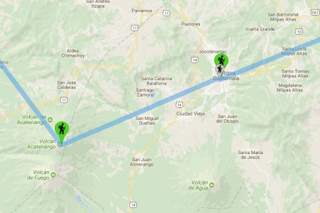 Guatemala: Antigua - Le Nostre Tappe