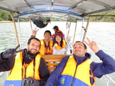 Guilin: Bamboo Boat verso Yangshuo
