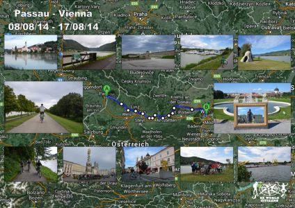 Itinerario Passau - Vienna