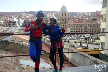 Bolivia: La Paz - Urban Rush