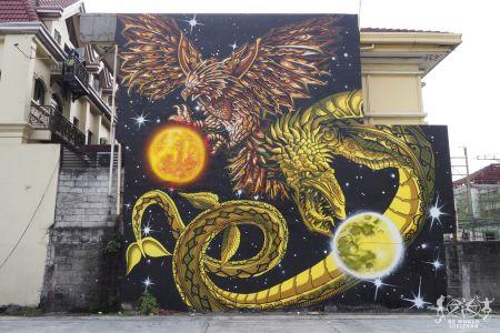 Filippine: Manila, murales