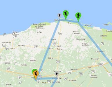 Messico: Chichen Itza, Rio Lagartos - Le Nostre Tappe