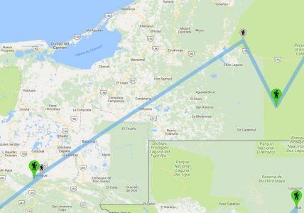 Messico: Palenque, Calakmul - Le Nostre Tappe