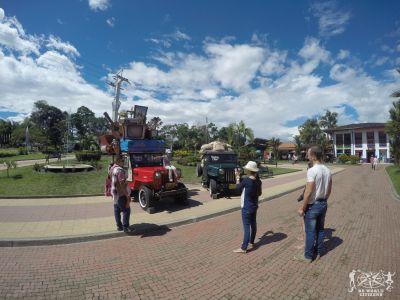 Colombia: Parque del Cafè