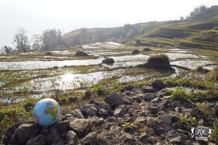 Vietnam: Il pallamondo tra le risaie di Sapa