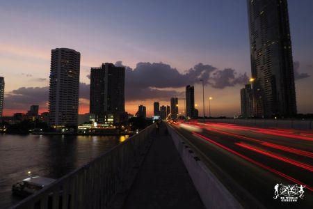 Thailandia: Bangkok, tramonto