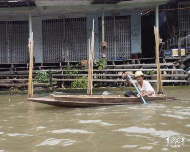 Thailandia: Bangkok, Mercati Galleggianti