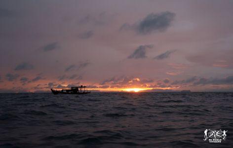 Thailandia: Phi Phi Island, alba