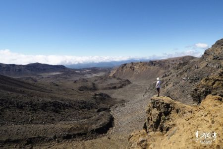 Nuova Zelanda: Tongariro Alpine Crossing
