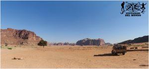 Giordania Deserto Jeep