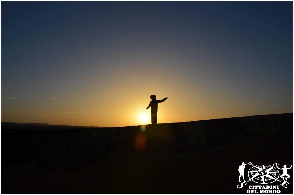 Merzouga - Alba tra le dune del deserto