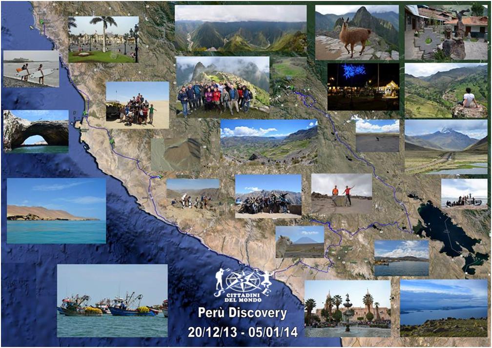 Perù - Itinerario