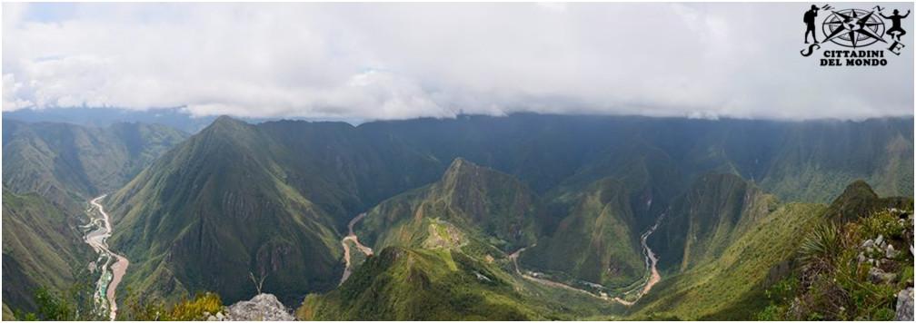 Machu Picchu - Vista dall'alto