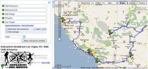 USA - Itinerario