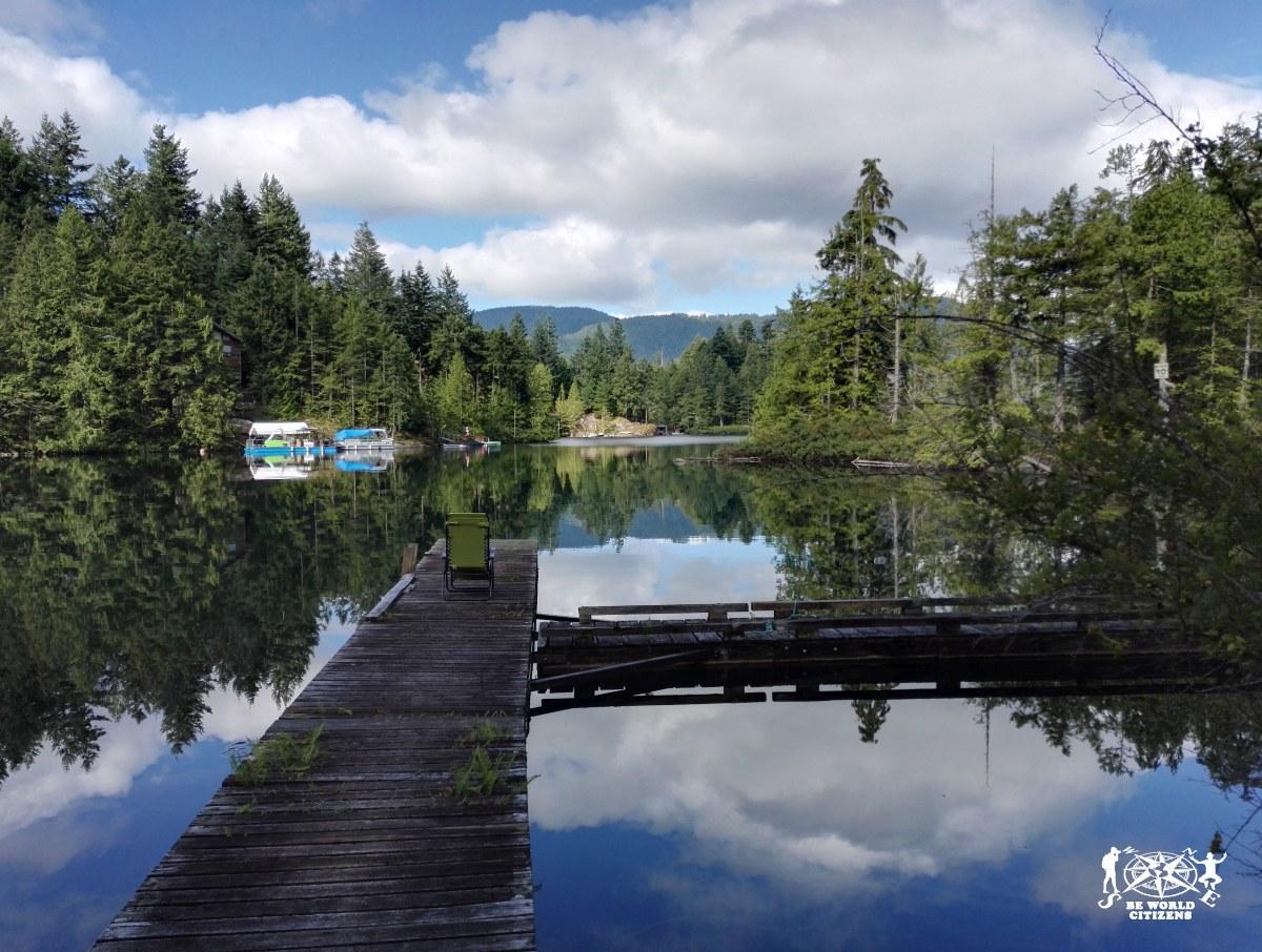 Ruby lake, Canada. Presso il mio terzo host canadese.